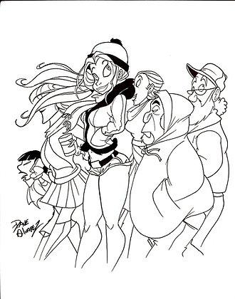 Yenny Ink Original Art
