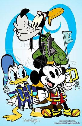 Mickey Kingdom Hearts