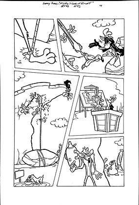 Vintage Looney Tunes Comic Book Interior Page 95