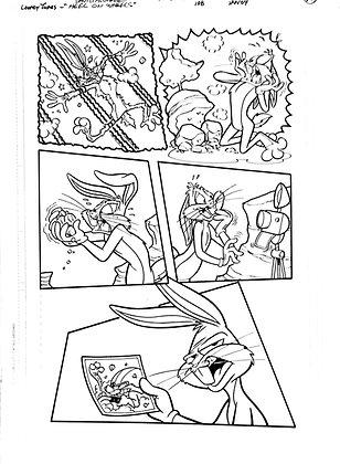 Vintage Looney Tunes Comic Book Interior Page #108