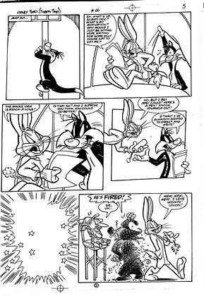 Vintage Looney Tunes Comic Book Interior Page #60