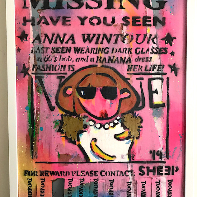 MISSING: HAVE YOU SEEN ANNA WINTOUR