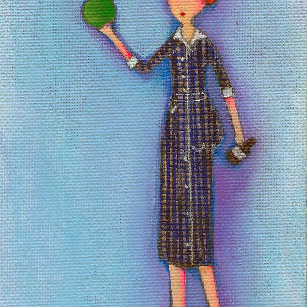 Lucy's Drunken Green Ball