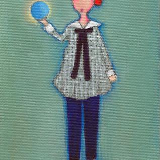 L Baby Blue Ball