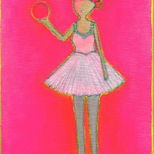 Lucys Hot Pink Ball
