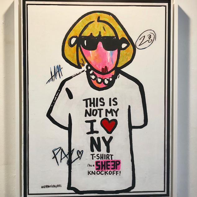 THIS IS NOT MY I HEART NY TSHIRT