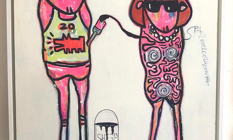 Keith Haring I Love Ewe