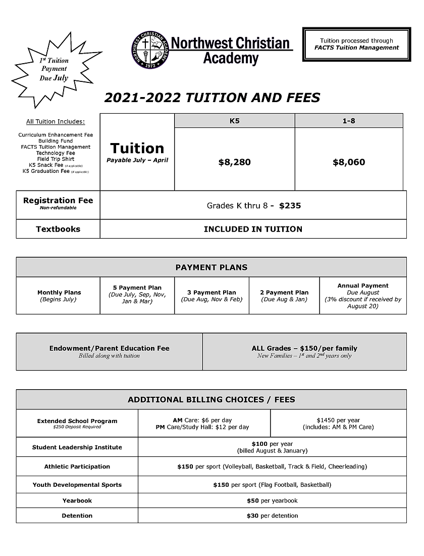 K-8 Tuition and Fees Schedule 2021-22.pn