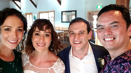 These guys rock! We had Fine2uned at our wedding in Bowral and they were outstanding. Our guests had a great time and absolutely loved their music. Both Taylor and Chris have amazing voices and were a warm and beautiful presence at our wedding.  From when we first spoke till the day we had our wedding, everything was stress free.  We highly recommend them, you won't be disappointed. We'd give them 6 stars if we could. Thank you yet again Fine2uned.