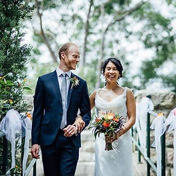 Thanks Chris for being part of Liam's and my wedding day at Oatley Castle. We had an incredible day and have some amazing memories to carry with us forever.   We had loads of comments on how good you were - from the set up to the playlist and the balance of acoustics (given the echoey space!).   Everyone loved that your energy, vocals, style and presence matched beautifully with the feel of our day.   Thank you again for sharing your time, professionalism, and of course great musical talent. Having you as our musician was one of the highlights and I'm so glad our paths crossed that night at The Wanderer!