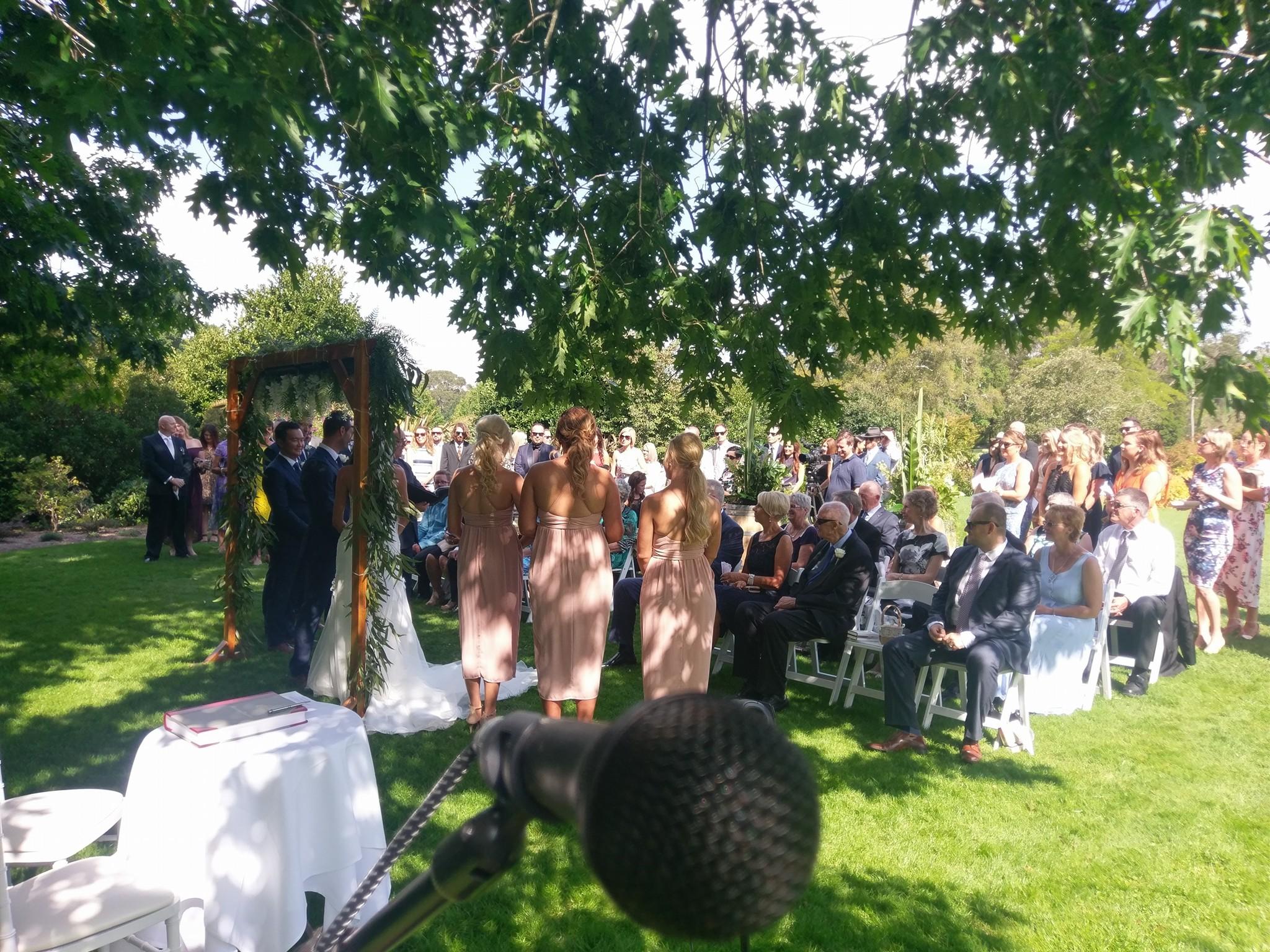 Craigieburn wedding ceremony