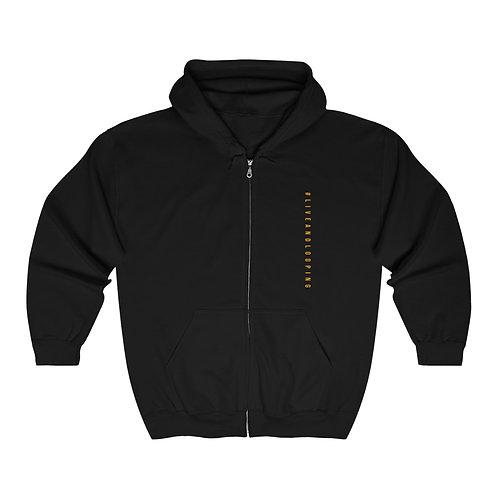#liveandlooping hoodie (Black)