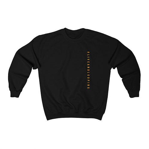 #liveandlooping sweater (Black)