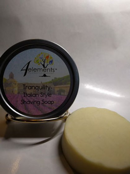 Tranquility Italian Style Shaving Soap