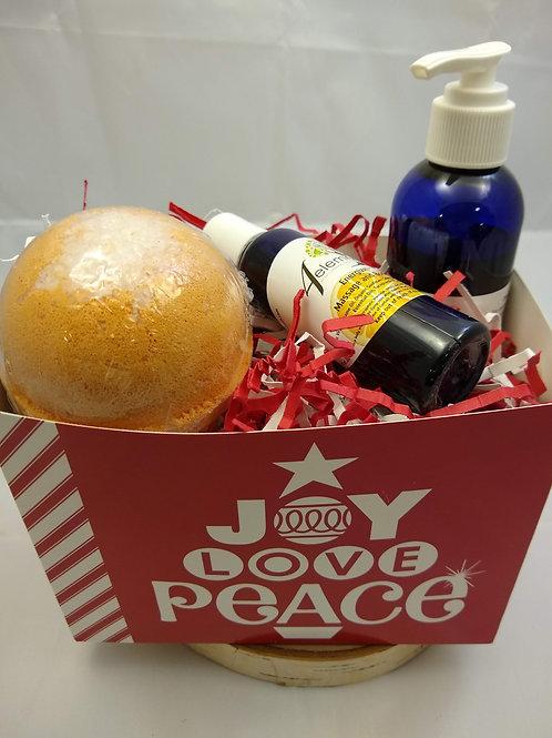 Joy, Love, Peace Gift Set