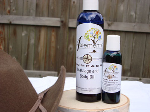 Compass Massage and Body Oil