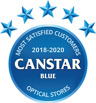 Canstar Blue award 2018-2020
