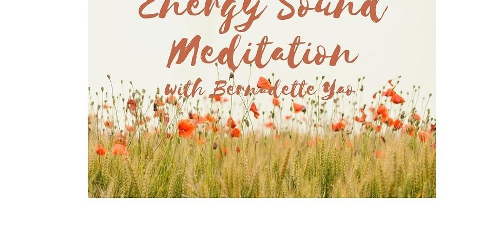Drop-in Energy Sound Meditation Workshop