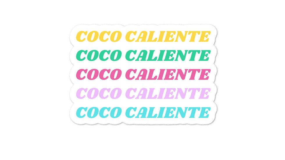 Bubble-free sticker | Coco Caliente