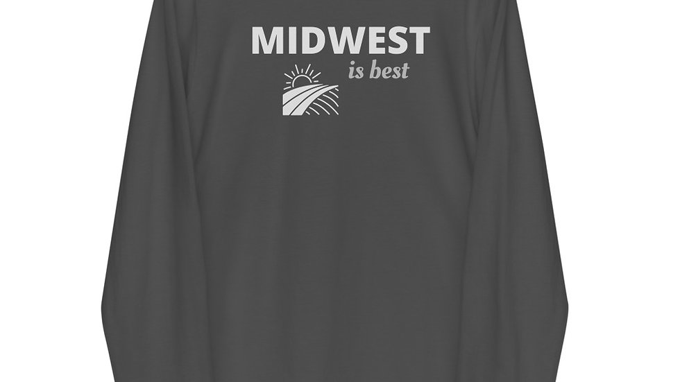 Long sleeve t-shirt | Midwest is best