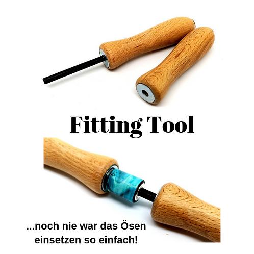 Fitting Tool zum Einsetzen der Ösen