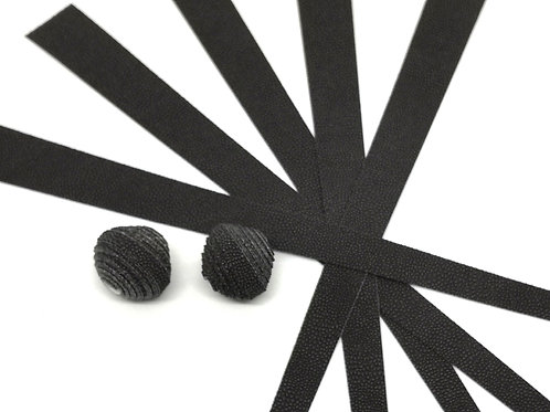 Tapetenstreifen  schwarz/anthrazit
