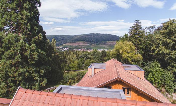 Vue Maison Forestière