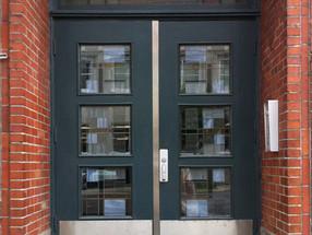 Portes principales Édifice Elgo / Elgo building front door redesign