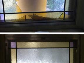 Chapel windows restored / Restauration de chapelle
