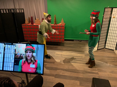 Scene from 'Elf' in Denver On-Camera Acting Class