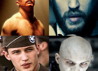 "Tom Hardy and his ""whatever works"" methodology"