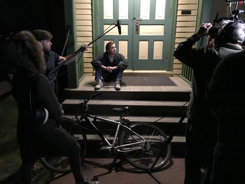 Master Production Class On-Set Filming in Colorado