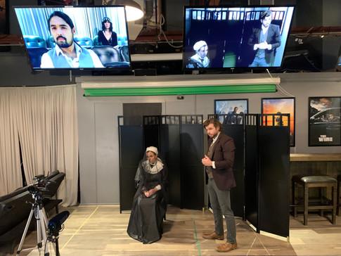 'Alias Grace' Hypnosis Scene On-Camera A