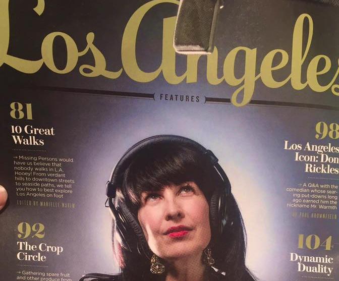 Grey Delisle Los Angeles Magazine
