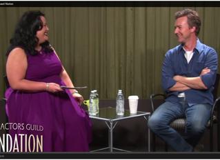 Actors on Acting: Edward Norton, SAG Conversations
