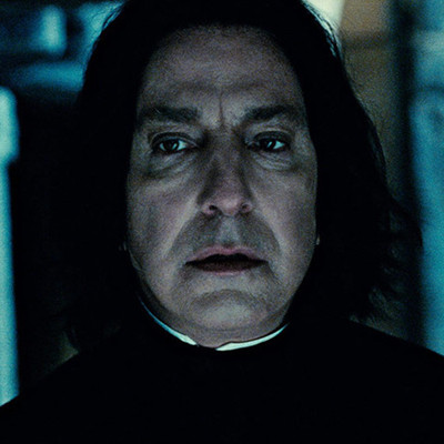 Alan Rickman 'Harry Potter'