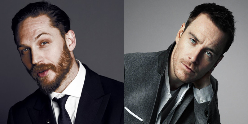 Tom Hardy and Michael Fassbender - Babcock Acting Studios
