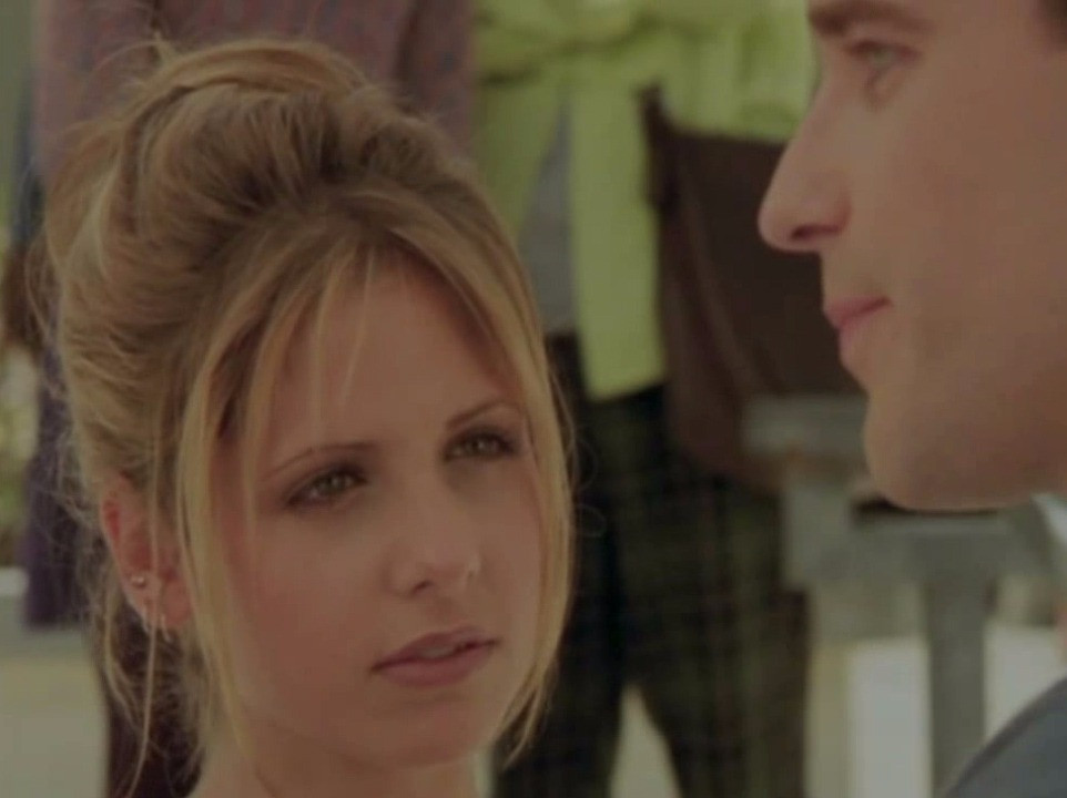 "Todd Babcock and Sarah Michelle Gellar ""Buffy The Vampire Slayer"""