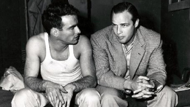 Brando and Clift