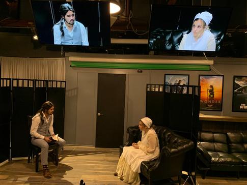 'Alias Grace' On-Camera Acting Scene in