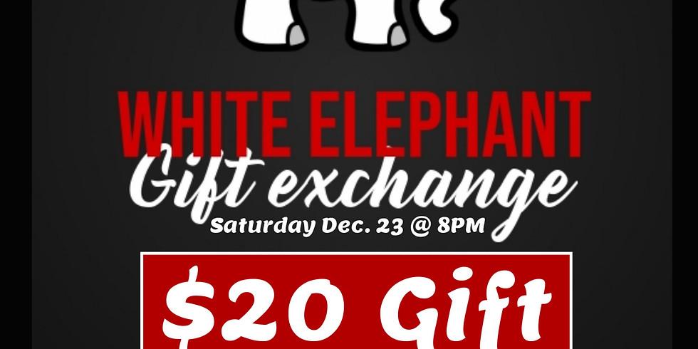 White Elephant Gift Exchange Party