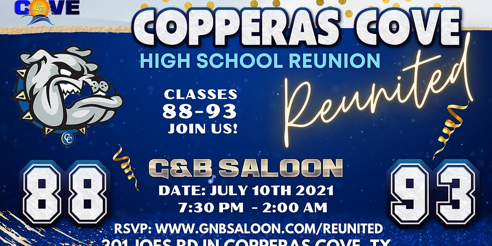 CC High Classes 88-93  Reunited