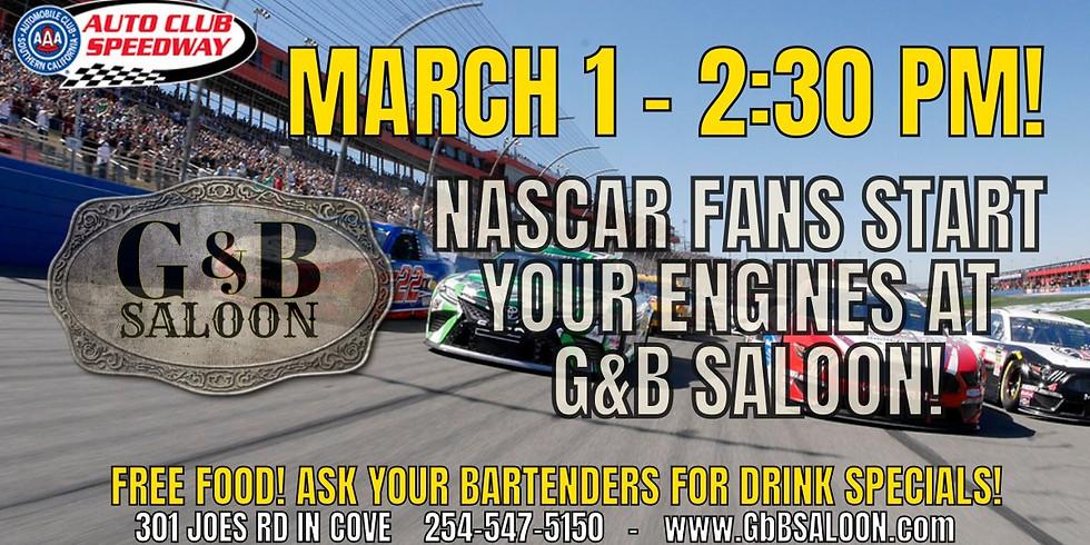 Nascar Fontana Race Day - March 1