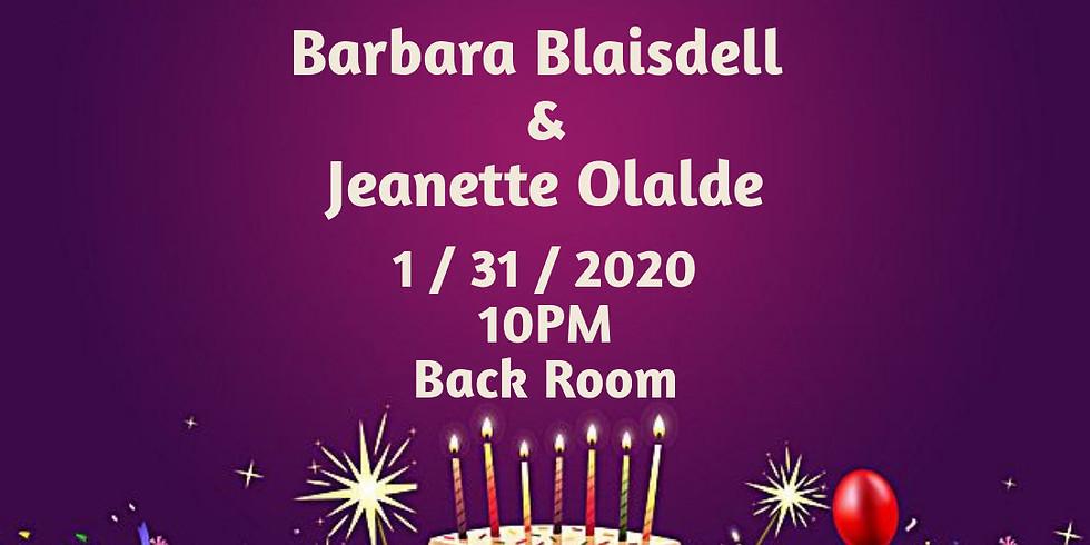 Birthday Party - Barabara Blaisdell & Jeanette Olalde