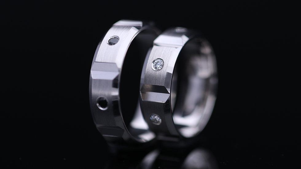 Svadobné obrúčky / Wedding rings A670 / VIDEO / Cena s DPH