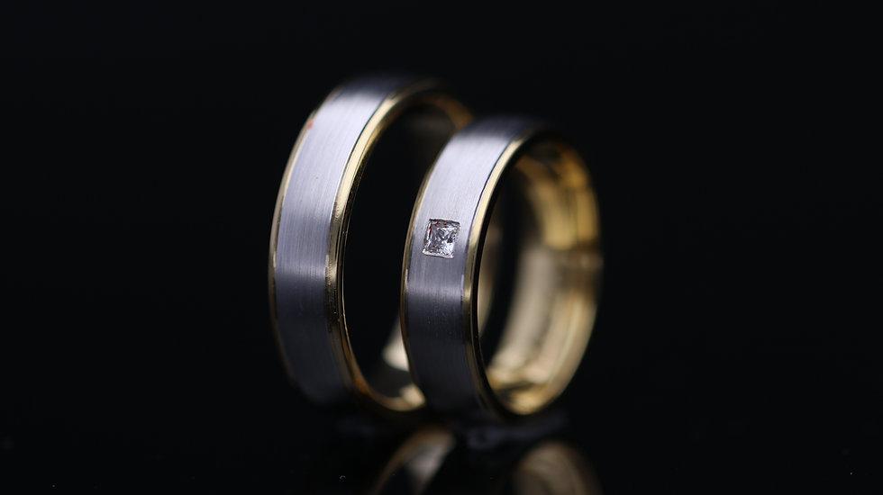 Svadobné obrúčky / Wedding rings R212 / VIDEO / Cena s DPH