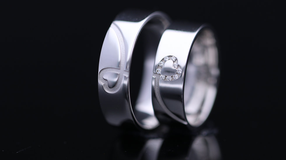 Svadobné obrúčky / Wedding rings B20 / VIDEO / Cena s DPH