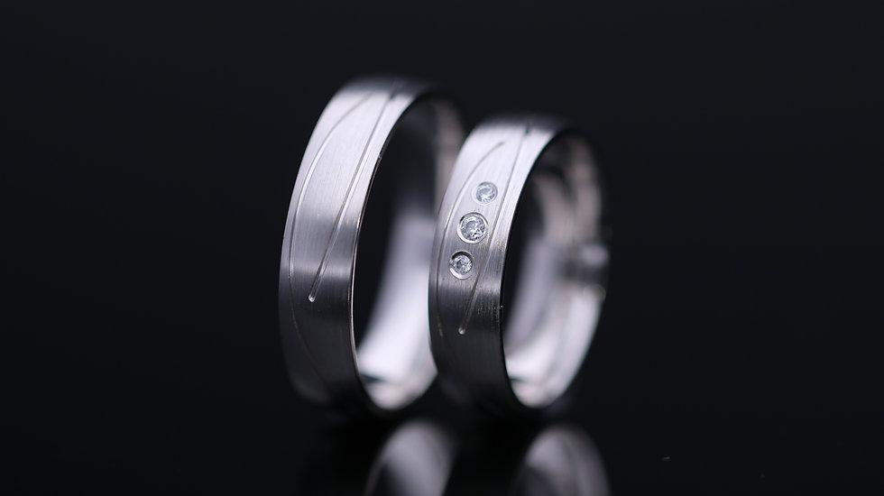 Svadobné obrúčky / Wedding rings B5 / VIDEO / Cena s DPH