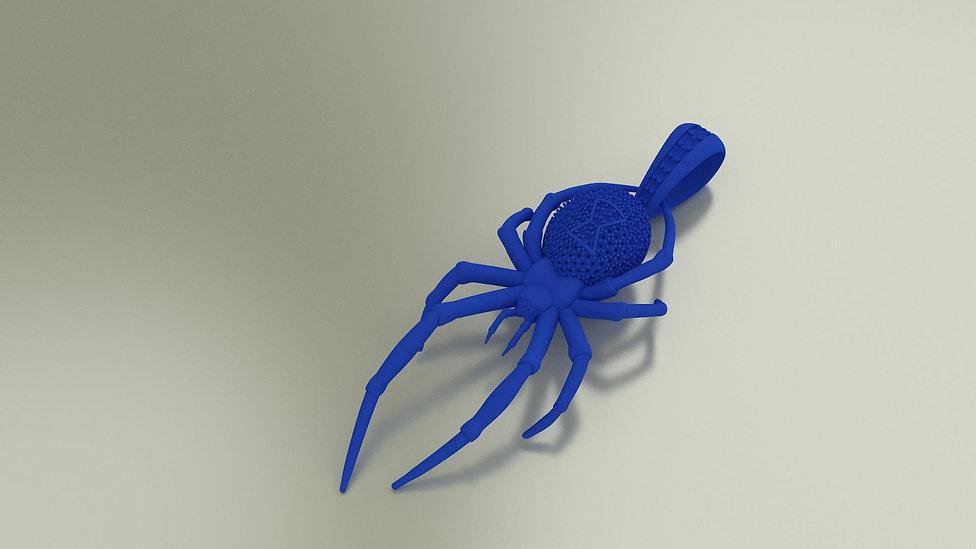Voskovy model pavúk
