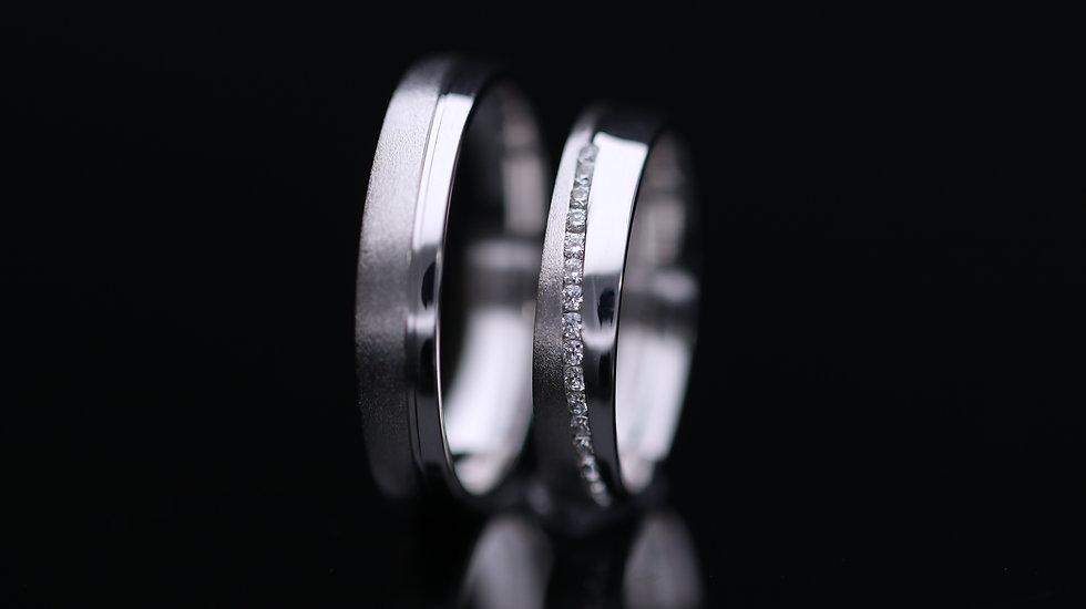 Svadobné obrúčky / Wedding rings L154 / VIDEO / Cena s DPH